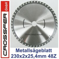 TCT saw blade for metalworking 230mm 230x2x25,4mm