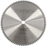 TCT Saw blade for metalworking 355mm 355x2,2x25,4mm 80T 4300rpm