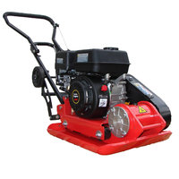 6.5HP Plate compactor 13KN 30cm depth RPV-29155 including wheels kit and paving pad