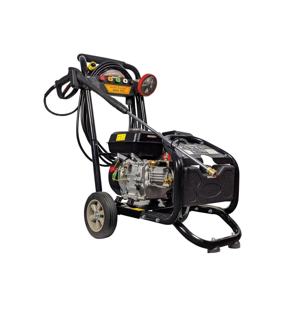 Hochdruckreiniger Benzin 220bar mit 7PS Benzinmotor ...