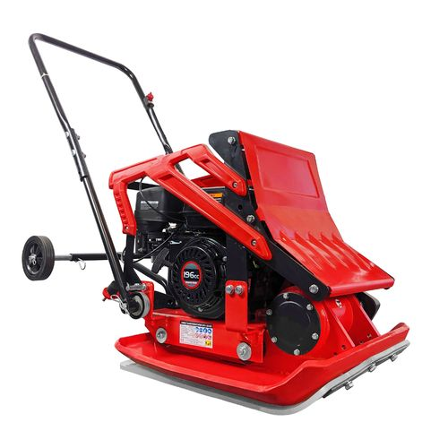 Vibratory Plate compactor #29465 incl. wheels kit and paving pad