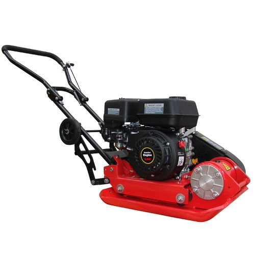 6.5HP Plate compactor 11KN 25cm depth RPV-29142 including wheel kit and paving pad